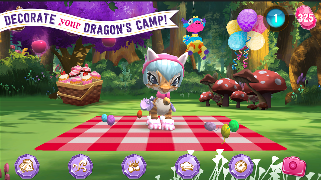 Android Ever After High™: Baby Dragons Screen 2