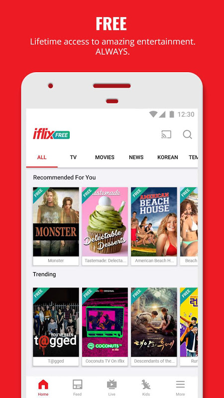 iflix 3.16.0-14844 Screen 1