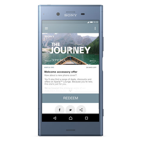 Android Xperia Lounge (entertainment) Screen 4