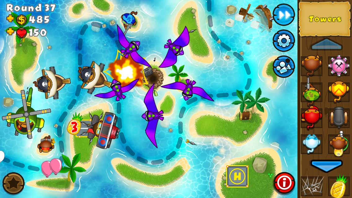 Bloons TD 5 3.10 Screen 1