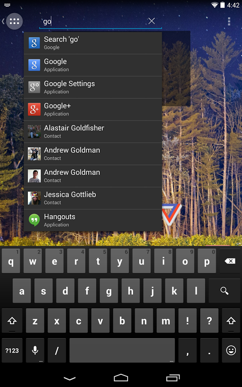 Android Action 2: Pro Screen 1