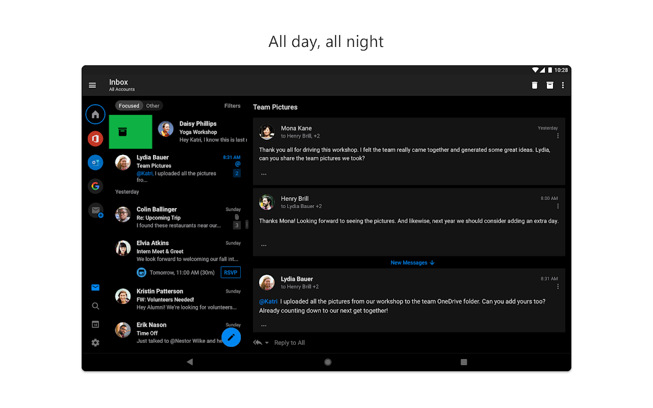 Android Microsoft Outlook Screen 10