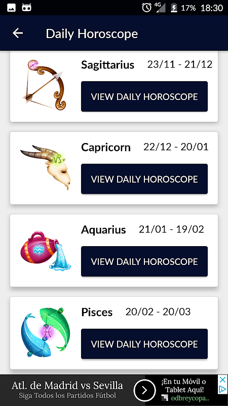 Daily Horoscope 2018: Zodiac Signs, Astrology Free APKs