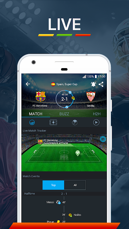 Android 365Scores - Live Score Screen 7