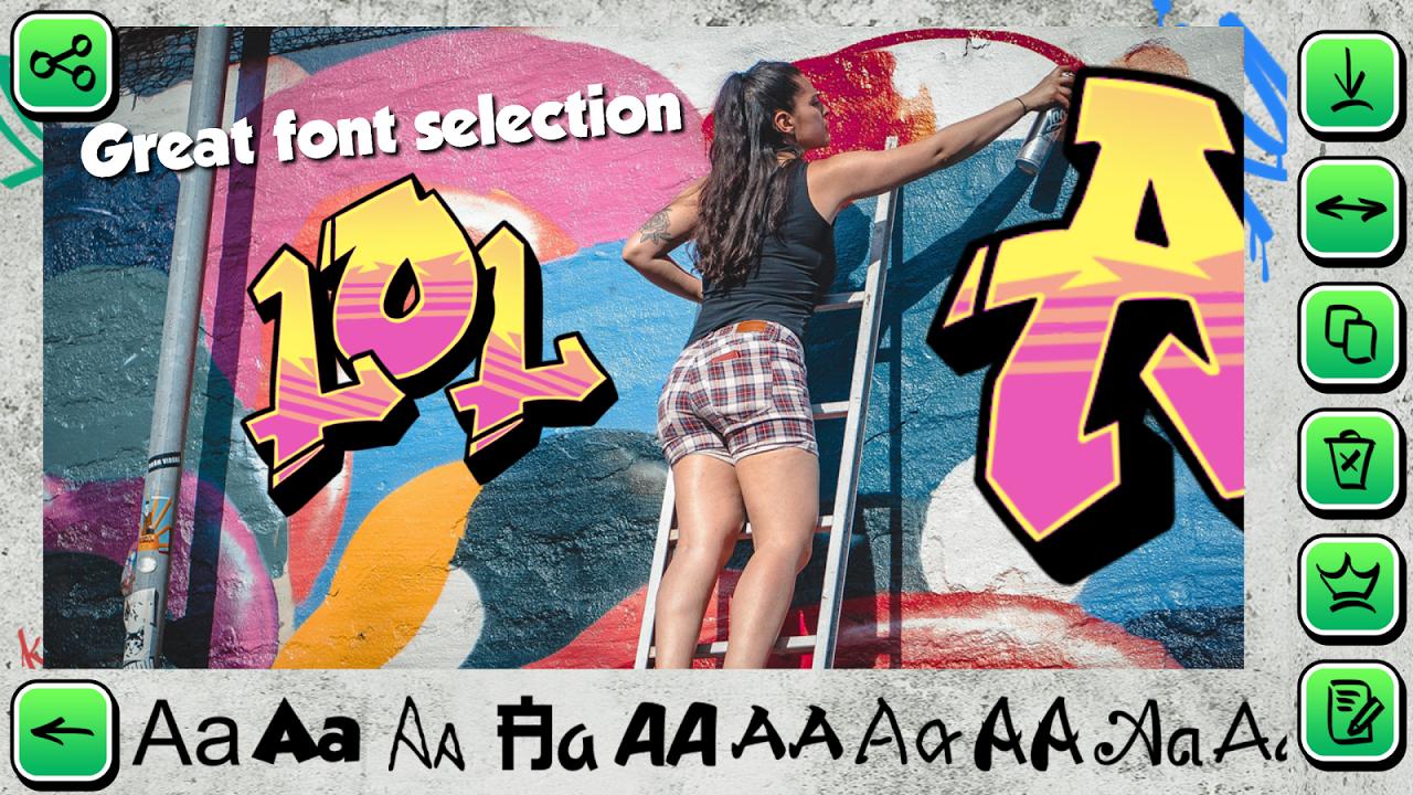 Graffiti Creator on Pictures 1.2 Screen 1