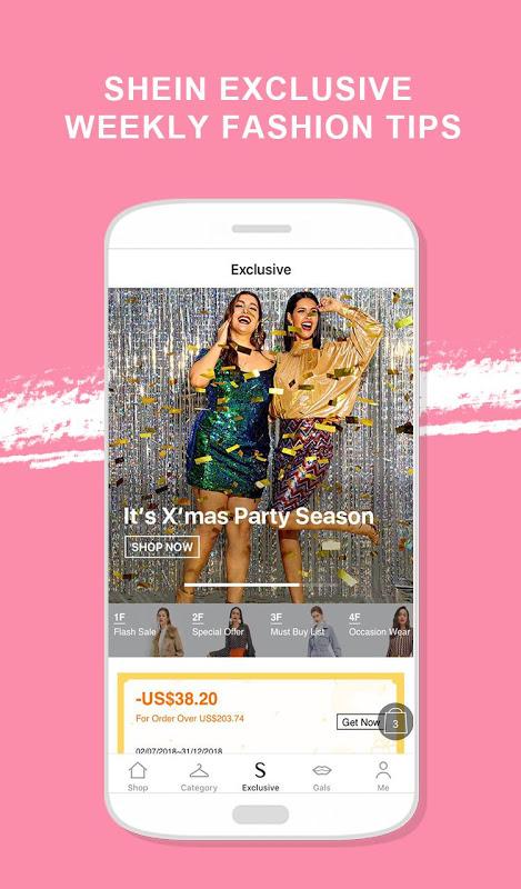 SHEIN-Fashion Shopping Online 6.5.2 Screen 3