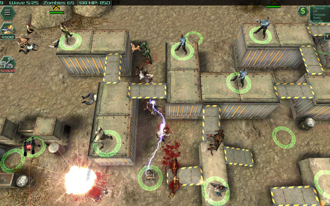Android Zombie Defense Screen 3