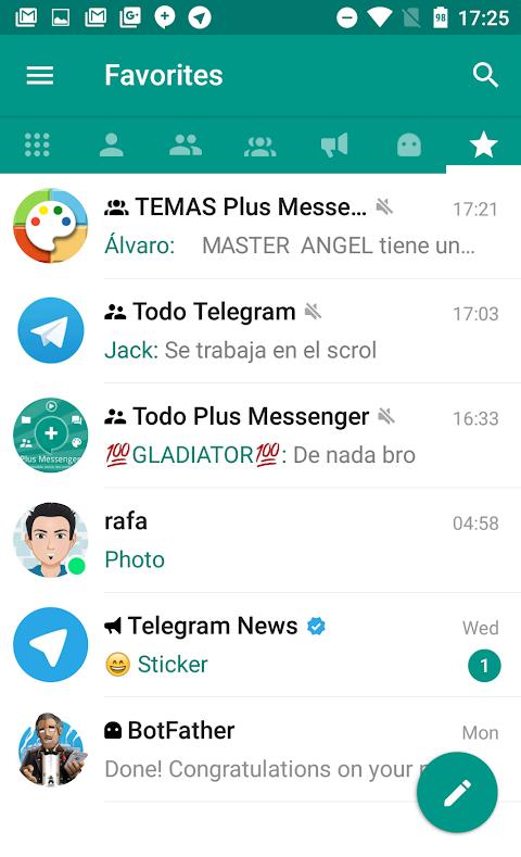 Plus Messenger 5.9.0.0 Screen 1