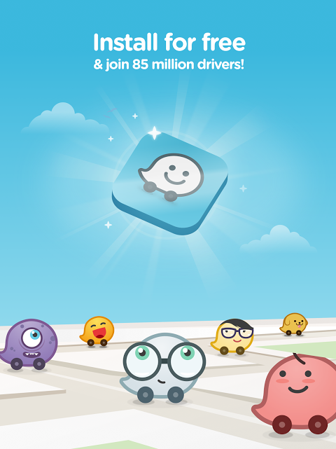 Android Waze - GPS, Maps, Traffic Alerts & Sat Nav Screen 9