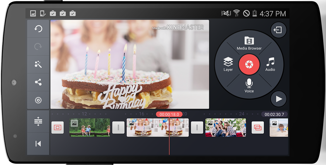 Android KineMaster – Pro Video Editor Screen 1