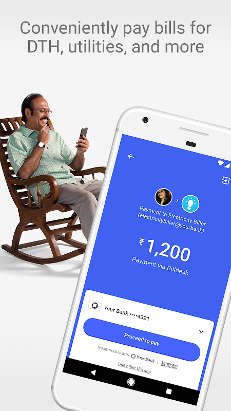 Tez – A new payments app by Google 15.0.001_RC06 (armeabi-v7a) Screen 1