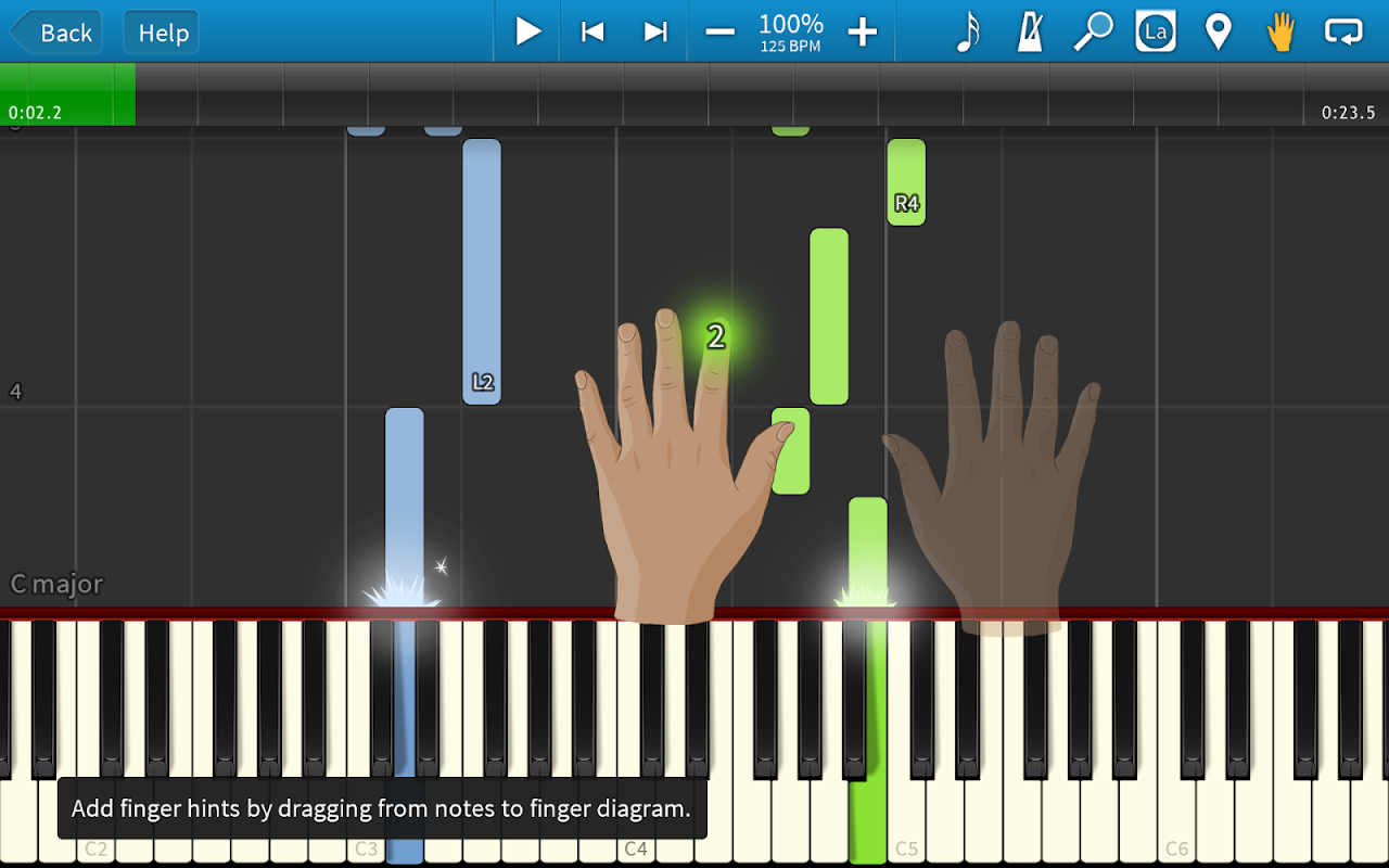 Synthesia 10.5 Screen 2