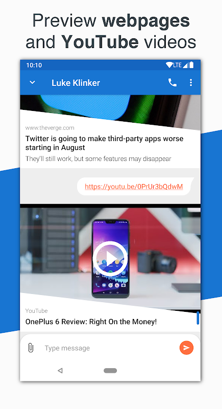 Android Pulse SMS (Phone/Tablet/Web) Screen 12