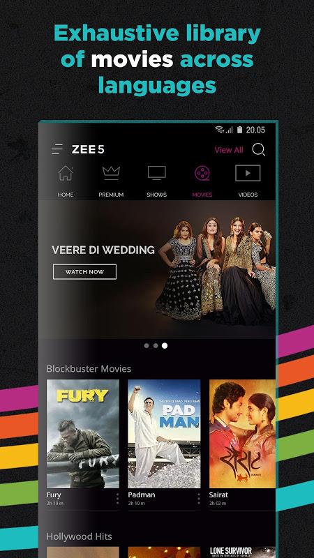 ZEE5 - Movies, TV Shows, LIVE TV & Originals 11.2.155 Screen 4