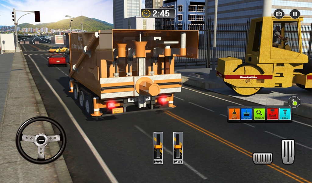 Pothole Repair Heavy Duty Truck: Road Construction 1.3 Screen 14