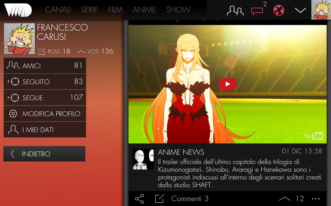 VVVVID 5.4.9 Screen 3