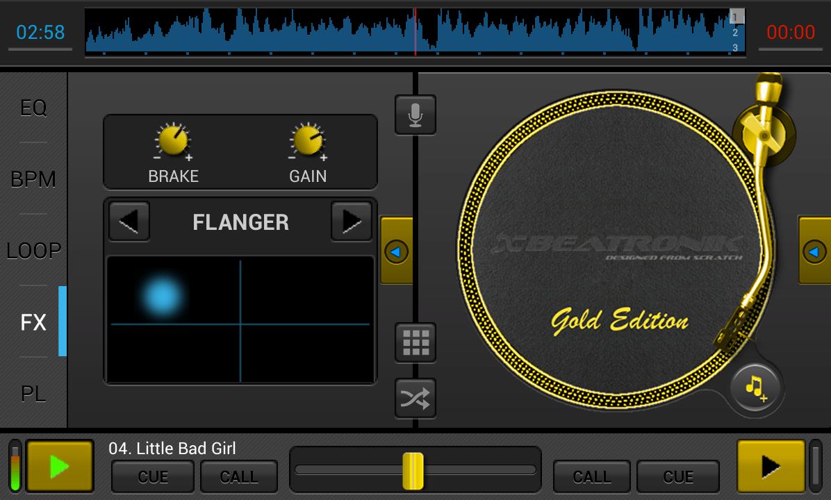 Android DJStudio Screen 7