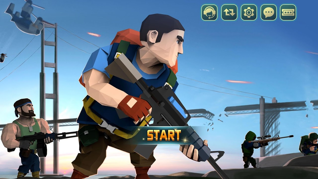 Android Commander At War-  Battle With Friends Online! Screen 2