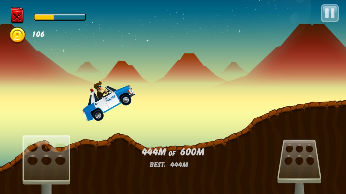 Android Hill Racing: mountain climb Screen 3