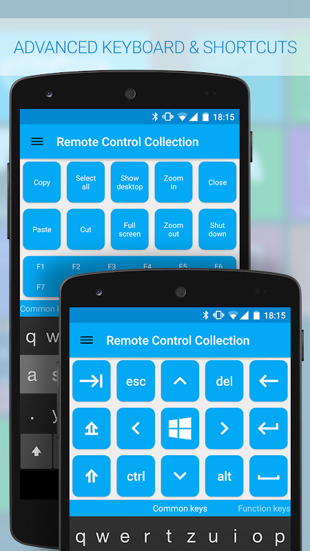 Android Remote Control Collection Screen 4