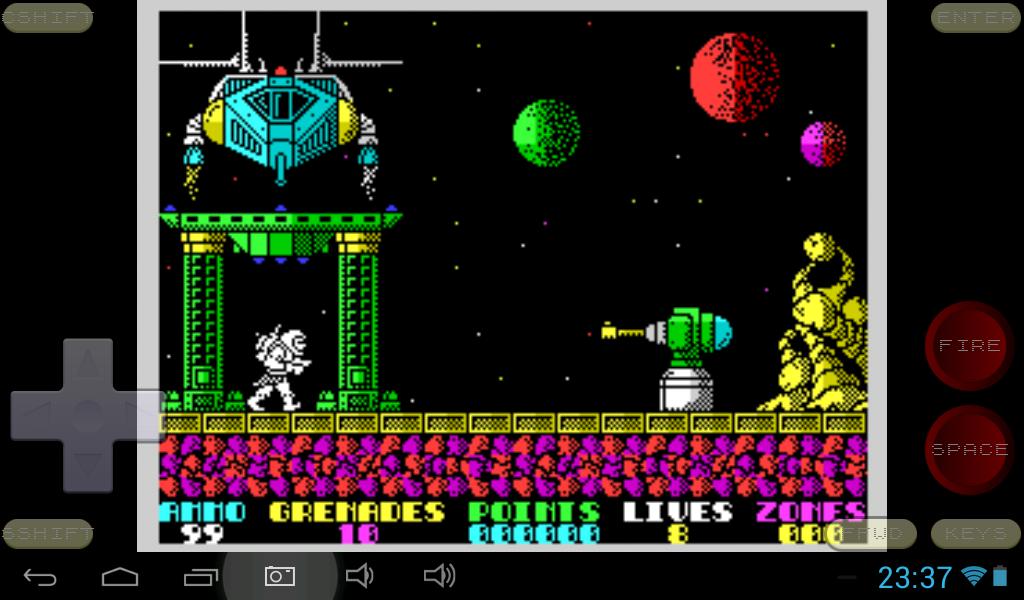 Speccy - ZX Spectrum Emulator 3.3.3 Screen 8