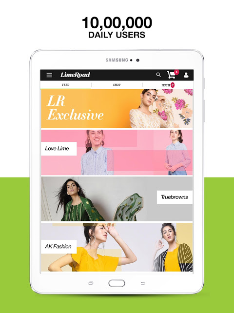 LimeRoad Online Shopping App 5.5.8 Screen 5