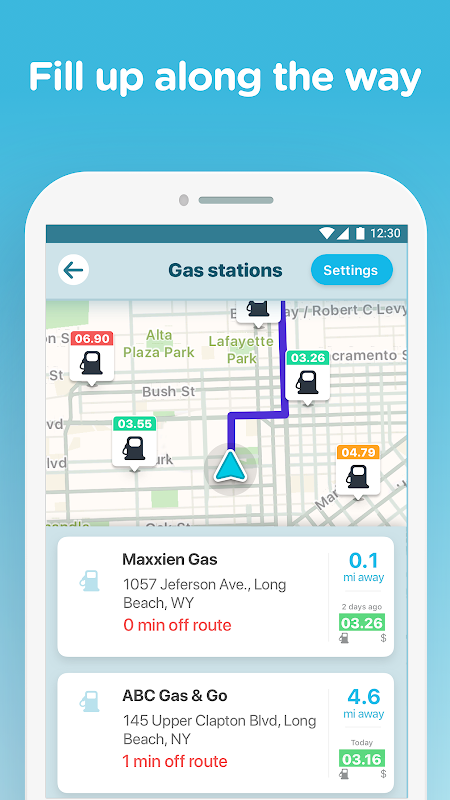 Waze - GPS, Maps, Traffic Alerts & Sat Nav 4.48.0.4 Screen 3