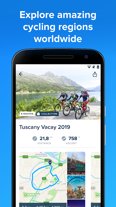 Android Bikemap - GPS Bike Route Tracker & Map for Cycling Screen 6