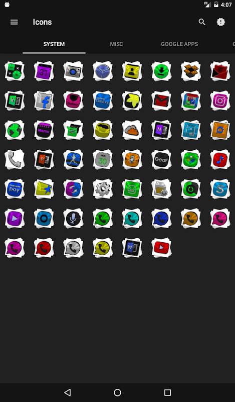 Android Stacks Icon Pack v4.2 Screen 21