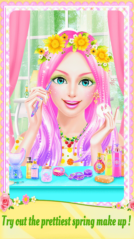 Android Spring Date Flower Spa & Salon Screen 2