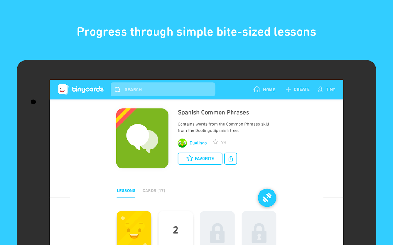Tinycards by Duolingo: Fun & Free Flashcards 1.0 Screen 9
