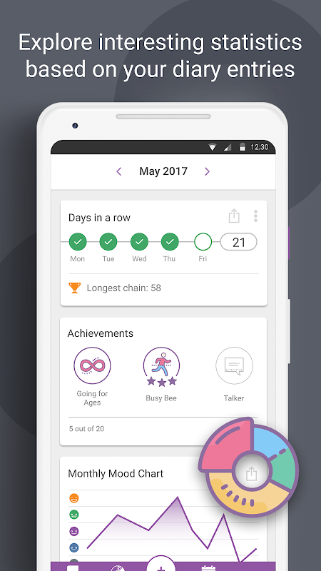 Daylio - Diary, Journal, Mood Tracker 1.18.1 Screen 5