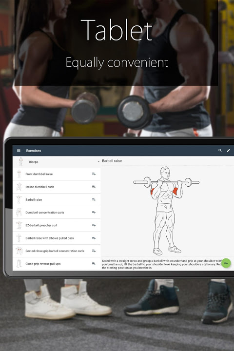 Fitness Coach FitProSport 4.54 Screen 1