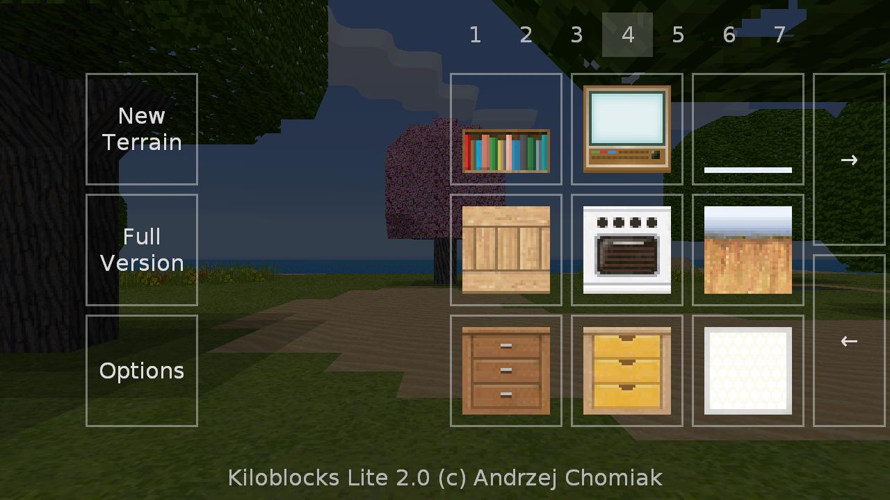 Exploration Lite 2.0.0 Screen 2