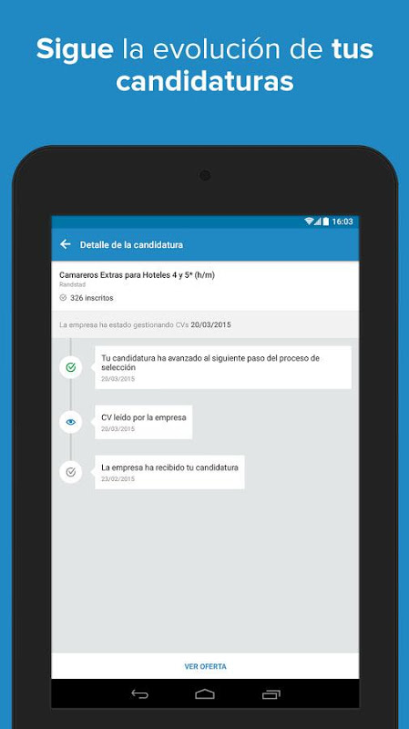 Android InfoJobs - Job Search Screen 22