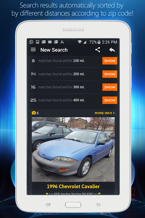 Android Cheap Cars For Sale - Autopten Screen 11