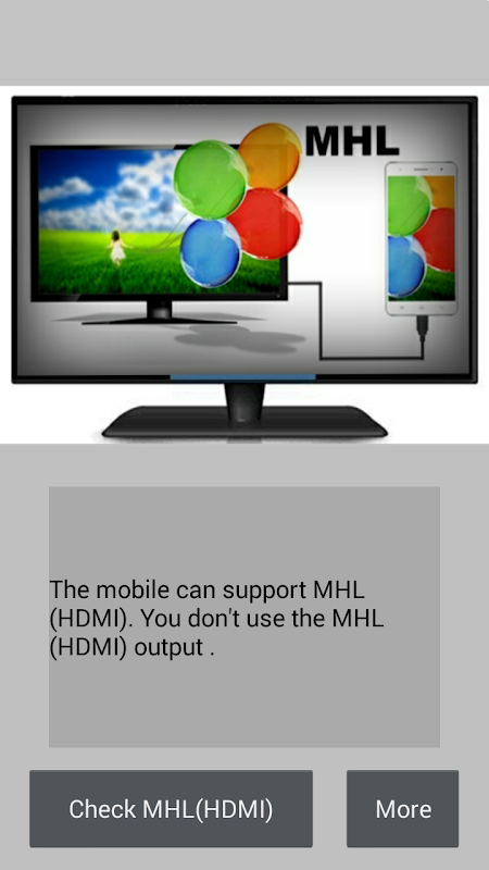 Checker for MHL (HDMI) 1.4.3 Screen 1