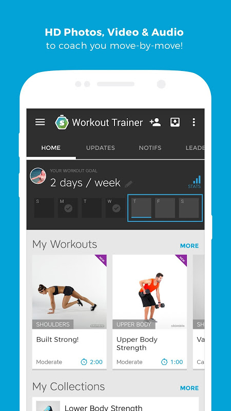 Android Workout Trainer: fitness coach Screen 4