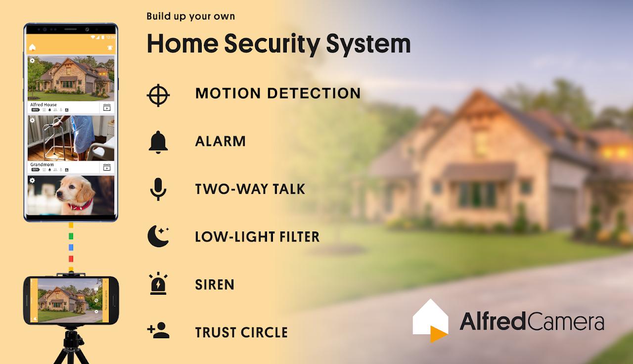 Alfred Video Surveillance Camera 4.2.3 (build 2114) Screen 6