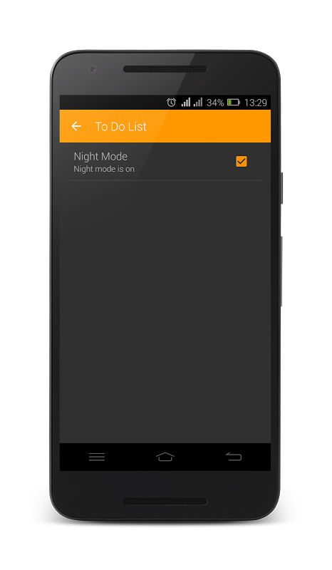 To Do List - Reminder 1.4 Screen 4