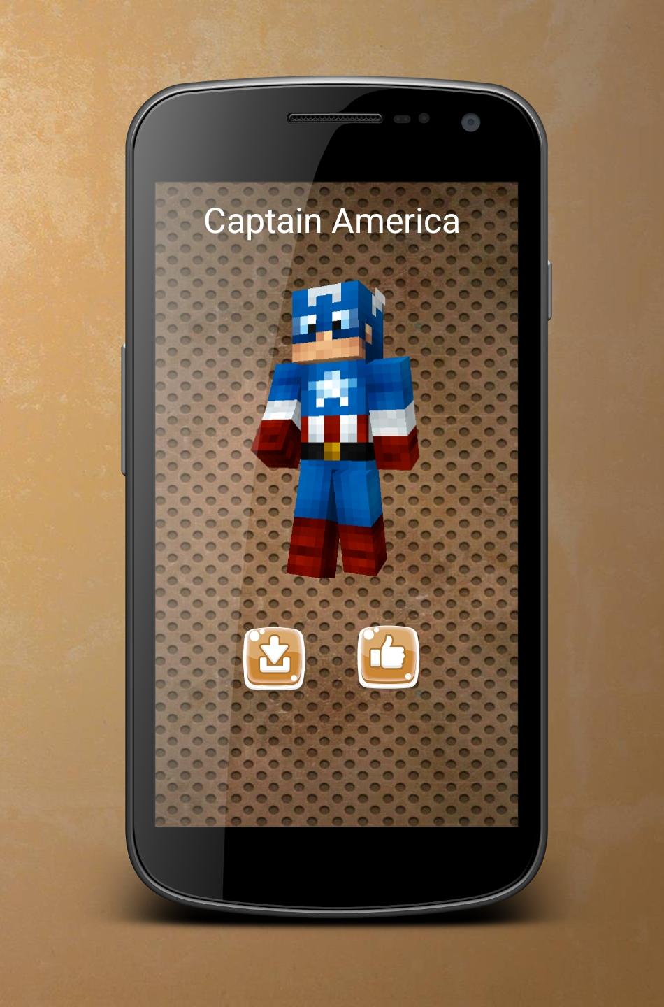 Android Superhero Skins for Minecraft Screen 2