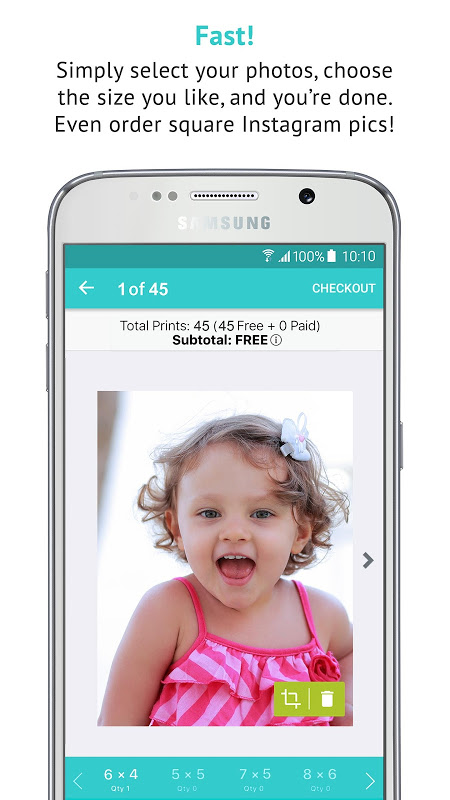 Android FreePrints - Free Photos Delivered Screen 4