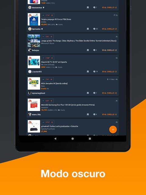 Android Chollometro – Chollos, Black Friday, ofertas Screen 4