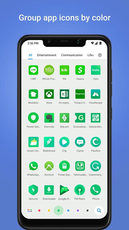POCO Launcher 2.6.3.7 Screen 1