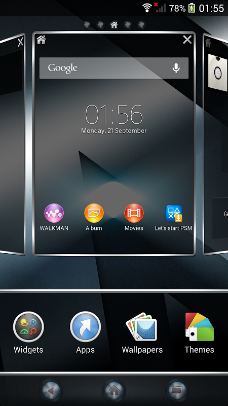 Android Xperia™ theme - Reality Screen 5