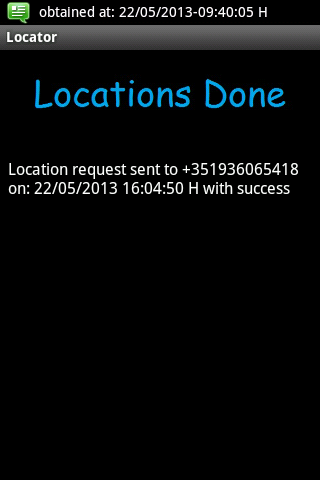 Android Locator Screen 5
