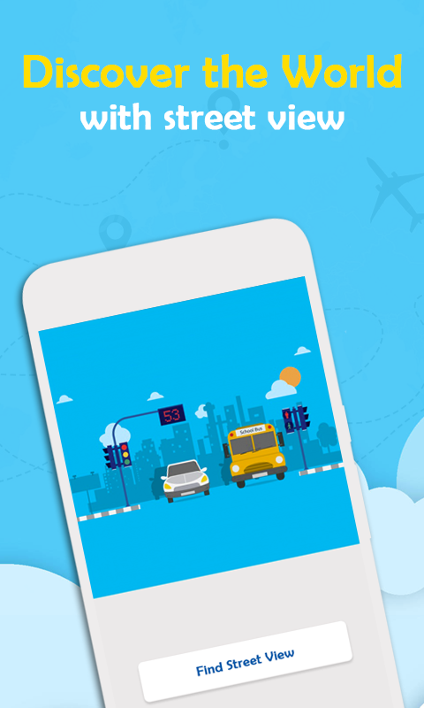Android Flight Radar Plane Finder - Air Traffic Screen 1