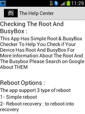 Android Root Tools Screen 2