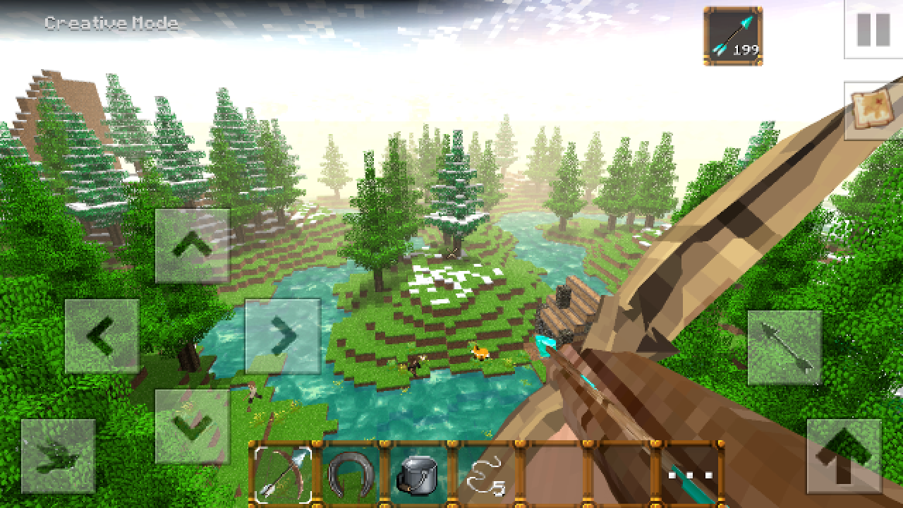 Android Forest Craft: Building Screen 4