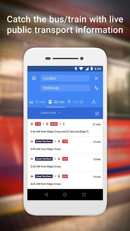 Google Maps Go – Directions, Traffic & Transport 98 Screen 2